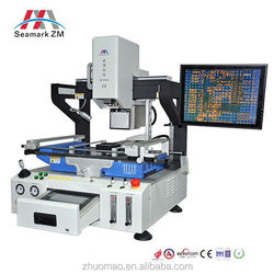 Trade assurance Nitrogen flow port bga rework station zm-r6823 high precise soldering machine