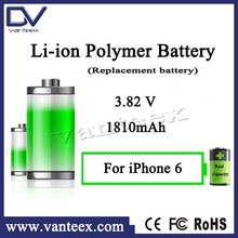 Real capacity rechargeable battery pack for iphone 6 battery bank replacement