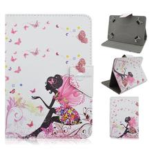 Fashional Magic Girl Folding Printed Leather Case Cover For iPad Mini 4