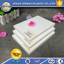 5mm 6mm 4x8 ft hard pvc foam sheet