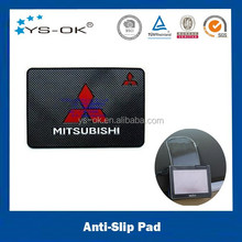 High quality reusable sticky non slip silicone rubber pad