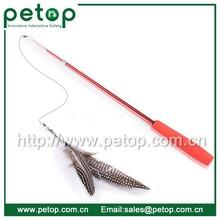 Retractable Feather Da Bird Cat Toy