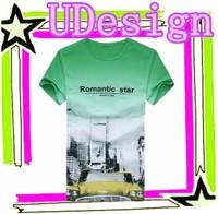 Adult cartoon t shirts men customized style loose cotton soft t shirts
