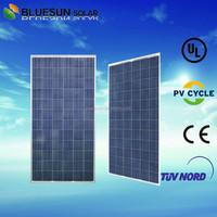 Bluesun high quality factory supply economic sunpower polycrystalline pv panel solar 300w 12v