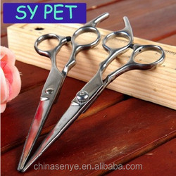 Pet dogs and cats beauty scissors scissors pet repair hair cut barber tools stainless steel scissors
