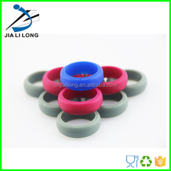 Fashionable silicone fancy finger rings/wholesale rings