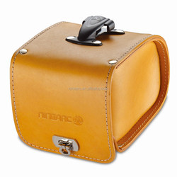 2015 most Fashion Geniune Saddle Bag With Quick Release(Small) ,leather bag bicycle bag, travel bag, bike bag
