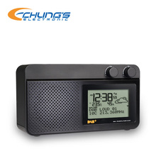 New Desktop weather station digital DAB+ FM clock Radio