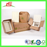 J485 Custom Cardboard Frozen Food Box Packaging with Foldable Lid