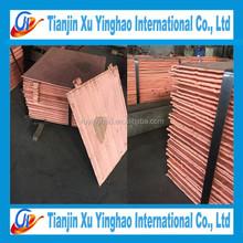 copper cathode type 99.9% mini copper cathode prices