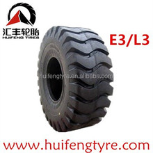23.5-25 E3/L3 Pattern OTR tires with high performance