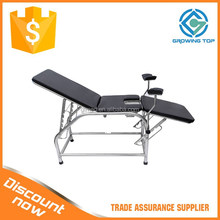 2015 NEW Stainless Steel obstetric delivery table for Gynecology