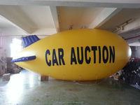 camera pvc blimp shape pvc balloon /inflatable blimp for sale