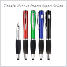 Stylus ball pen with led light