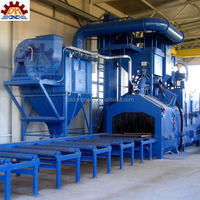 shot abrasive anti-rust buffing dust collection Promotional updated spare parts for shot blasting machines