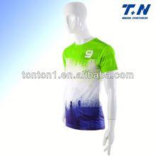 short sleeves sublimation stripes full soccer kits