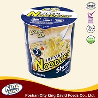 King David Chinese Five Cereals 65G Cup Instant Noodle