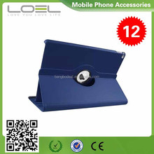 Ultra thin Flip PU Leather Stand Case Smart Cover 360 degree Rotating Automatic Wake/Sleep case For iPad 2 3 4 B0IPRO001(14)