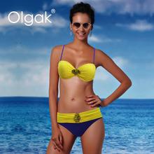 Olgak Hot Sex Women's Bathing Suit Bikini Modest Islam Muslim Swimsuit With Accessories