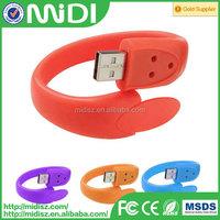 Hot selling Silicone Bracelet USB Flash Drive,usb flash memory bracelet for promotion gift