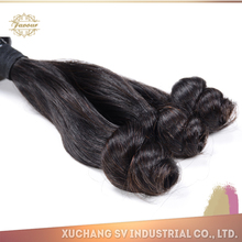 Tight And Neat Weft Peruvian Wholesale Distributors Virgin Peruvian Hair Extension 7A Grade Spring Curl