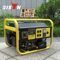 Bison China Zhejiang Reliable OEM 2KW Honda Cheap Silent Petrol Portable Generator Price