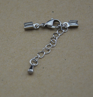 BXG031 stainless steel lobster claw cord clasp for bracelet DIY jewelry Findings & Components