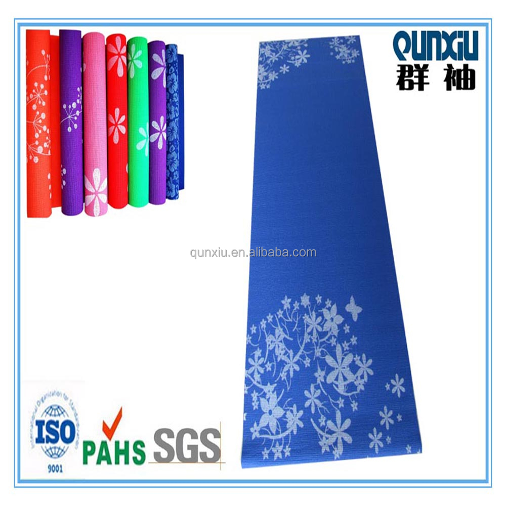 Customized High Quality Anti Slip Pvc Foam Printing Yoga