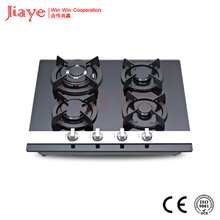 colored tempered glass cooker gas hob restaurant equipment gas stove JY-G4023