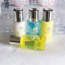 3-5 stars luxury high quality silver cap latest design hotel bathroom shampoo