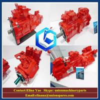Excavator kawasaki hydraulic pump K3V63 ,K3V112 ,K3V140,K3V180,K5V140,K3SP36B,K3SP36C for Kawasaki