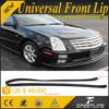 "98"" Black Flexible Rubber Auto Car Universal Front Lip For Sedan Coupe Saloon"