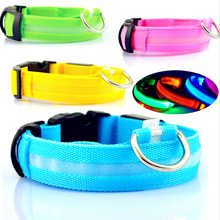 2015 New Products Pet Led Flashing Dog Collar For Pet Manufactures