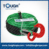 12000LBS dia.10mm 4x4 off-road Dyneema or synthetic winch rope for atv electric winch full set by different color and accessorie