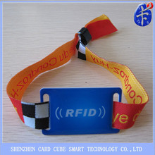 innovative design fabric wristband tag