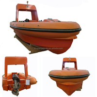 Self-discharging Deck FRP Cheap Inflatable Boat