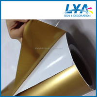 5 years life durability premium quality self adhesive color opaque vinyl film for cutting plotter, letters, labels
