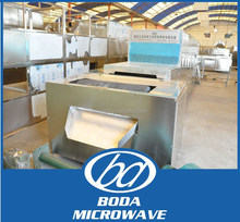 leaves industrial microwave dryer/microwave drying sterilizer/tunel type continuous microwave dryer