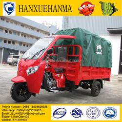 LIFAN 300cc flatbed passenger pedicab with semi-closed cabin