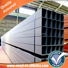 thin wall hot dip galvanized square and rectangular steel pipe price