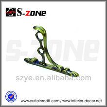 en alliage de zinc bd18 double tringle à rideau support cintre de mur rideau