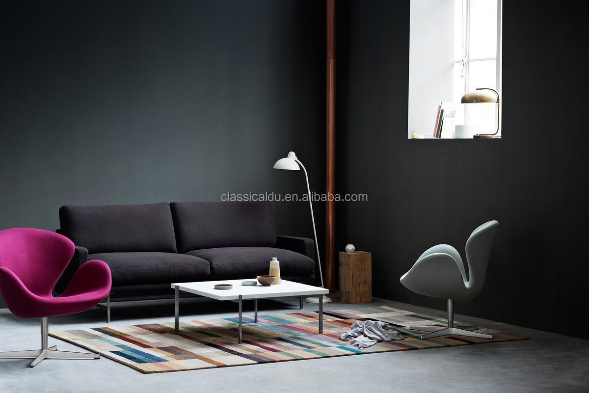 Cafe lederen stoelen, relax stoel ontwerp, zwaan stoel replica h ...