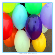 Good quality 12 inch colorful round shape heart printed latex balloon for party balloon decoration