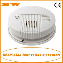AC110-220V home fire detection standalone smoke detector with 9V backup battery