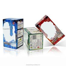 Full Color Printing Clear Plastic Packaging Box PET Folding box