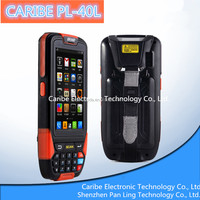 CARIBE PL-40L AM163 Android 4.1 OS IP65 rugged mobile phone rfid with 3G,GPS,WIFI,Bluetooth,Camera