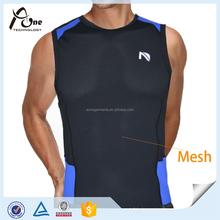 Nylon Custom Gym Stringer Vest for Men