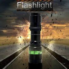 (130020) Brightness 180LM Zoom Dimmer Led High Power Style Flashlight