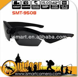 mini bike hidden digital sunglasses camera SMT-950B