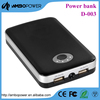2 usb battery pack charge mobile phone